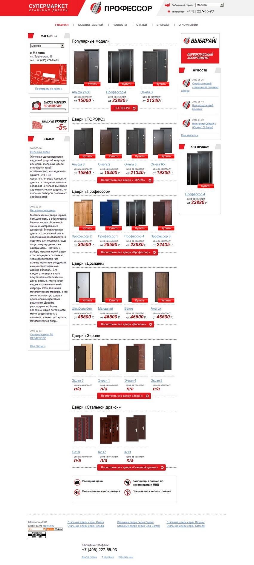 Металлические двери - стальные двери